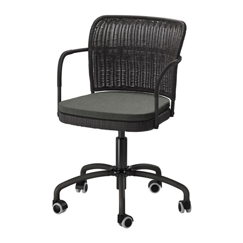 gregor swivel chair vittaryd white ikea skruvsta swivel chair you sit comfortably since the is