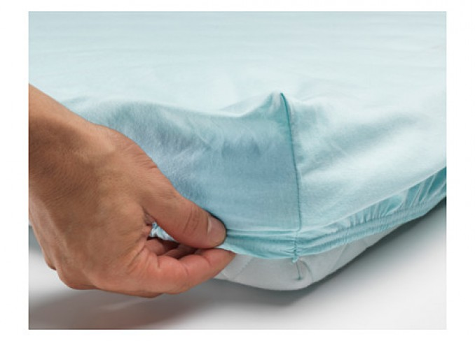 Ikea LEN Fitted sheet set-of-2 for cot gallery 4