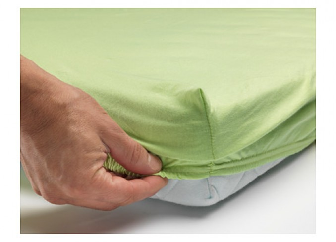 Ikea LEN Fitted sheet set-of-2 for cot gallery 5