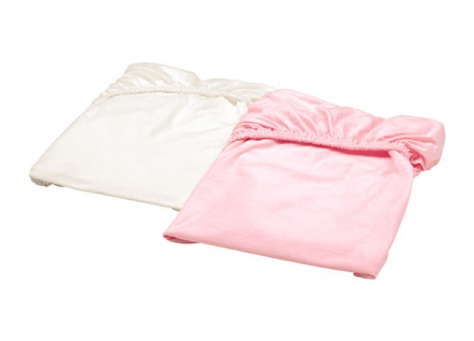 Ikea LEN Fitted sheet set-of-2 for cot gallery 6