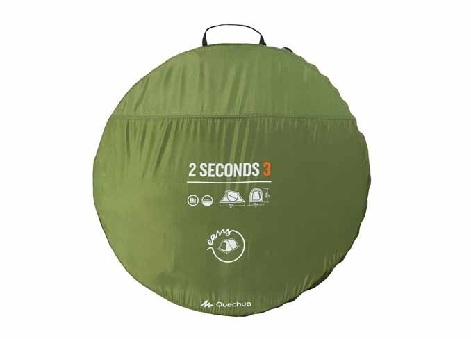 Easy 3 Person 2 Seconds Tent - Green gallery 5  sc 1 st  Saamaanu.com & Saamaanu.com: Easy 3 Person 2 Seconds Tent - Green