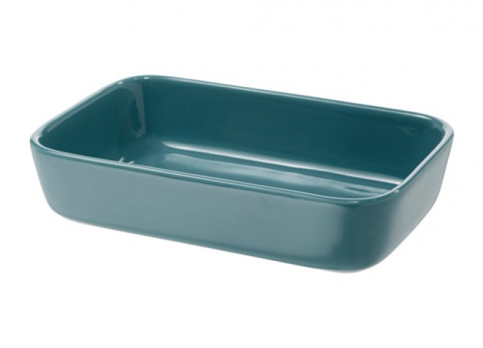 Ikea LYCKAD Oven/serving dish, blue gallery 1