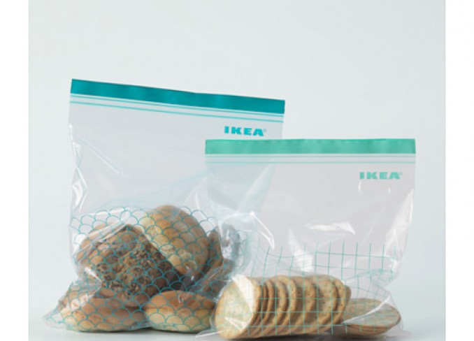 Ikea ISTAD Plastic bag set of 30 pieces gallery 2