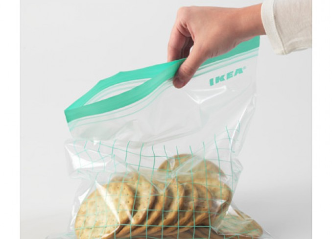 Ikea ISTAD Plastic bag set of 30 pieces gallery 3