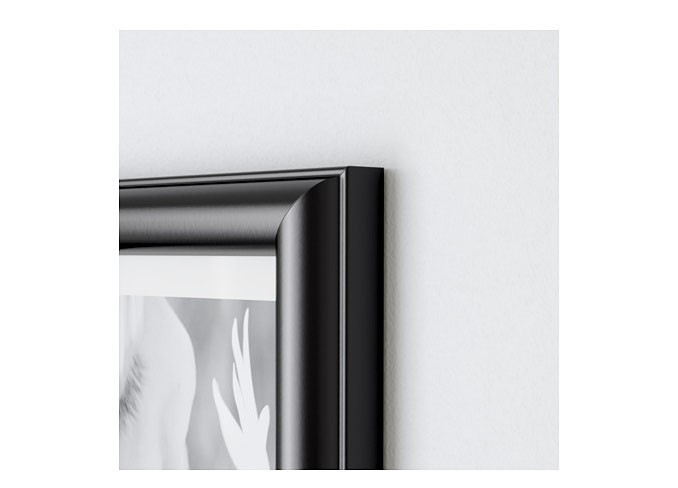 Ikea MARIETORP Frame for 4 pictures, black gallery 3